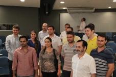 Vereador no Paço Municipal. Integração dos novos médicos concursados que atenderão na cidade de São Carlos