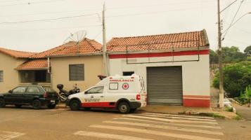 Ambulância que atende Santa Eudóxia, o veículo antigo era maior e e tinha maior capacidade de atendimento