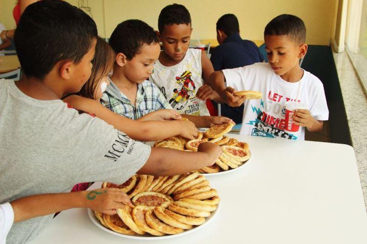 Evento Social com crianças carentes no Habib's