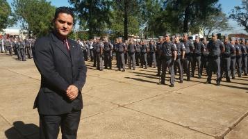 Vereador foi o único representante do Legislativo de São Carlos
