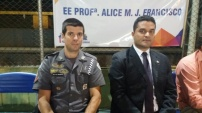 Major Jefferson Lopes e Moisés Lazarine