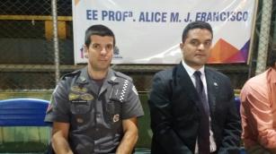 Major Jefferson Lopes e Moisés Lazarine