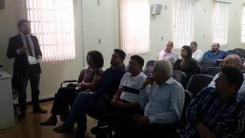 Reunião dos vereadores com os administradores da Santa Casa