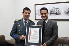 Entrega do Título de Cidadão Benemérito ao Major PM Jefferson Lopes Jorge - Dia 24/08/2017