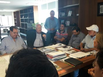 Vereador Moisés Lazarine no Paço Municipal