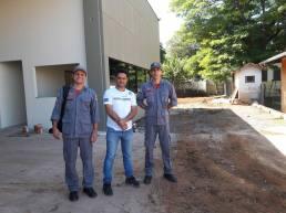 Tenente Eric, Moisés Lazarine e Sargento Simões