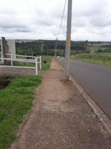 Locais que precisam de ciclovias na região dos bairros Jardim Zavaglia, Residencial Eduardo Abdelnur e Jardim Botafogo.
